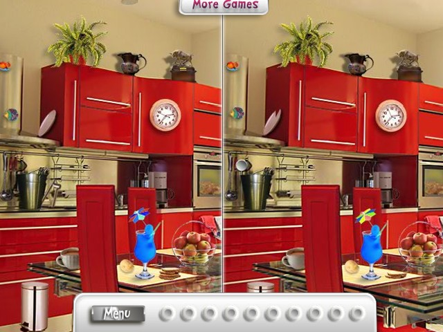 New find the difference puzzle game