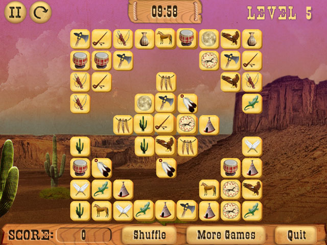 Indian Mysteries Mahjong screenshot
